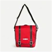 Clark & Mayfield Reed iPad Crossbody Bag; Red