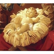 Fontanini Scale Resin Cradle for Infant Jesus Christmas Decoration