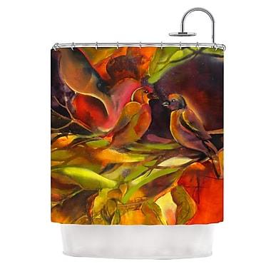 KESS InHouse Mirrored in Nature Shower Curtain