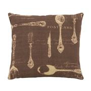 Woodland Imports Paris Dining Theme Pillow