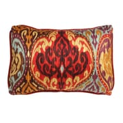The Well Dressed Bed Lunar Sky Ikat Accent Cotton Throw Pillow