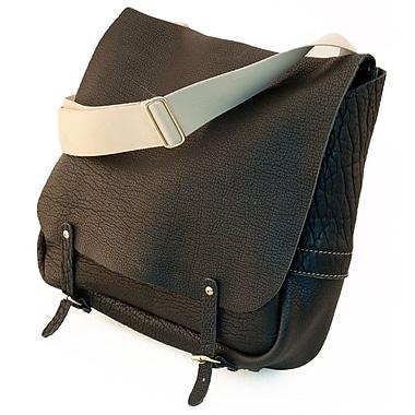 Mulholland Brothers American Bison Messenger Bag; Black Bison