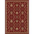 Central Oriental Radiance Crimson Hereford Rug; 7'10'' x 10'10''