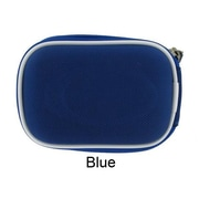 rooCASE Mini Nylon Hard Shell Carrying Case; Blue