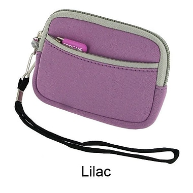 rooCASE 3.5'' Neoprene Sleeve Carrying Case; Lilac
