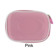 rooCASE Mini Nylon Hard Shell Carrying Case; Pink