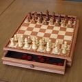 Wood Expressions Chess / Checkers Set in Camphor