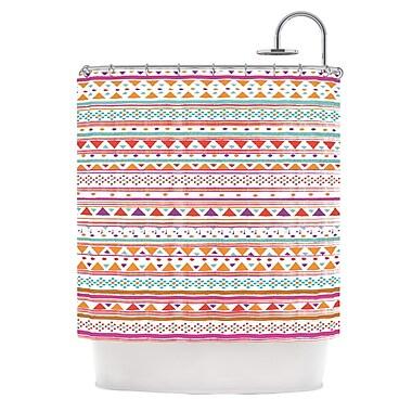 KESS InHouse Native Bandana Shower Curtain