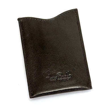 Tony Perotti Italico Ultimo Front Pocket Wallet with Magnetic Money Clip; Black