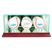 Perfect Cases Triple Baseball Display Case