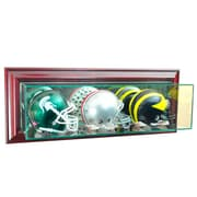 Perfect Cases Wall Mounted Triple Mini Football Display Case