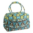 Amy Butler Take Flight Traveler Tote Bag; Passion Lily Turquoise