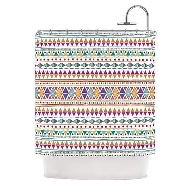 KESS InHouse Native Fiesta Shower Curtain