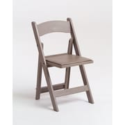 Commercial Seating Products Max Resin Folding Chair; Sand Beige