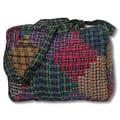 Patch Magic Tartan Log Cabin Shoulder Bag