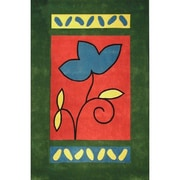 American Home Rug Co. Bright A Single Flower Area Rug; 5' x 8'