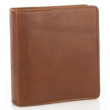 Aston Leather Leather Binder; Tan