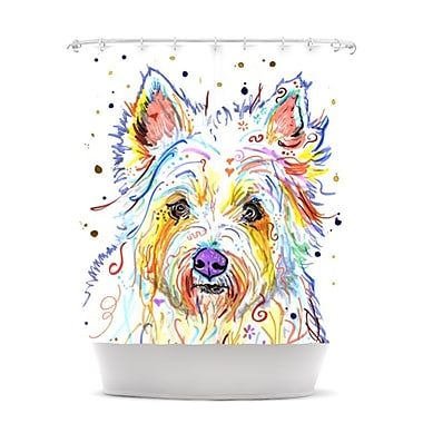 KESS InHouse Bella Shower Curtain