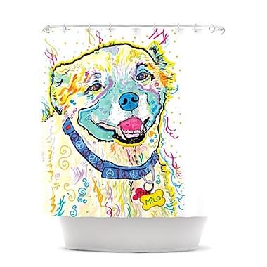 KESS InHouse Milo Shower Curtain