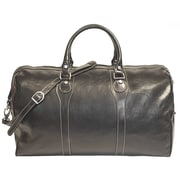 Tony Perotti Amato 20'' Itallian Leather Duffel; Black