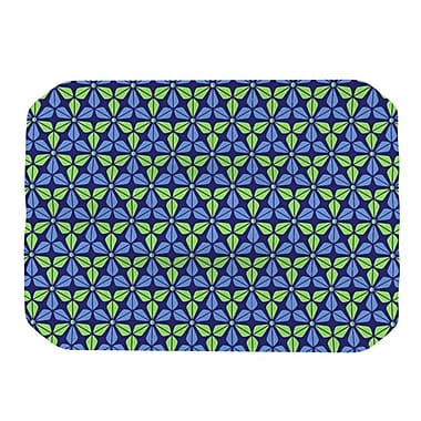 KESS InHouse Infinite Flowers Placemat; Blue
