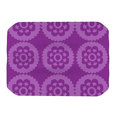 KESS InHouse Moroccan Placemat; Purple