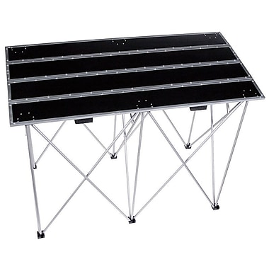 Road Ready 30'' Fold Out Multipurpose Table with Compact Shoulder Carrying Option