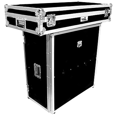 Road Ready DJ Stand For Coffin with Built-in Shelf