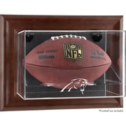 Mounted Memories NFL Wall Mounted Logo Football Case; Carolina Panthers