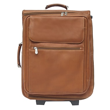 Piel Traveler 17'' Computer Bag Mini-Roller; Saddle