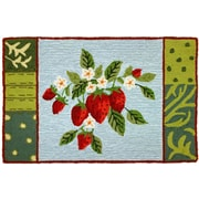 Homefires Bloomin Berries Area Rug; 22'' x 34''