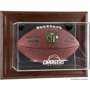 Mounted Memories NFL Wall Mounted Logo Football Case; San Diego Chargers
