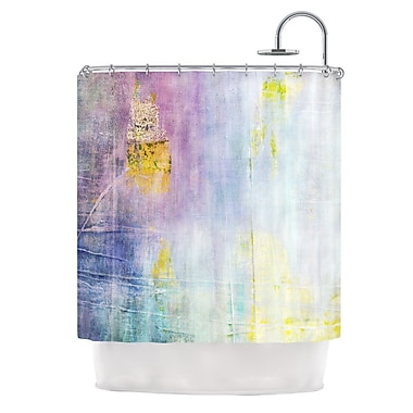KESS InHouse Color Grunge Shower Curtain