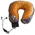 Nek Pillow Neck Pillow Super Deluxe with Hoody; Tree Stump