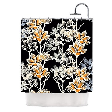 KESS InHouse Crocus Shower Curtain