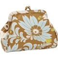 Amy Butler Mallory Coin Purse; Turquiose Fern Flower