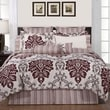 Pointehaven Luxury 12 Piece Comforter Set; California King