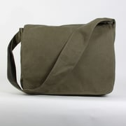 Amy Butler Parson Gray Messenger Bag; Olive