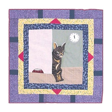 Patch Magic Cats Cotton Throw Pillow