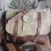 Amy Butler Parson Gray Messenger Bag; Sand