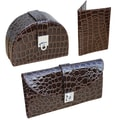 Austin House 3 Piece Croco Travel Set