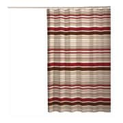 Maytex Meridian Polyester Fabric Shower Curtain