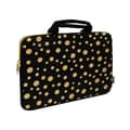 Sumdex Printed Polka Dots Neoprene Laptop Sleeve; 16''
