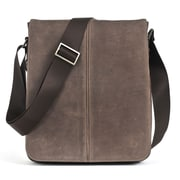 Boconi Leon iMailbag Cross Body Bag; Mocha with green plaid