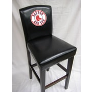 Imperial MLB Bar Stool with Cushion (Set of 2); Boston Red Sox