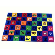 Kids World Little Charlie Kids Rug; 4' x 6'