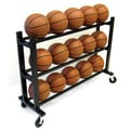 Trigon Sports 35'' 3 Tier Ball Cart