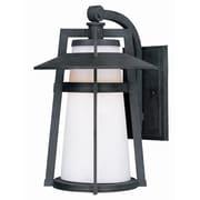 Maxim Lighting Calistoga 1-Light Outdoor Wall Lantern; 12.5'' H x 9'' W