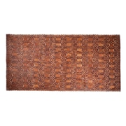 Entryways Mills Exotic Wood Mat - Natural 18x30; 36 x 71