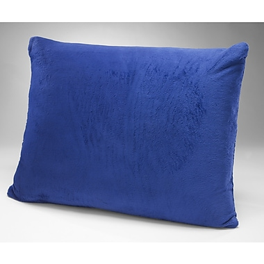 Eco-Lux Kid's Memory Foam Lumbar Pillow; Blueberry